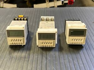 Omron H3ca a Timer With Contact Block 4 Amp 24 To 240 Vac 12 To 240 Vdc