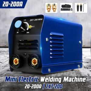 Zx7 200 200a Mini Electric Welding Machine Dc Igbt Inverter Arc Mma Stick