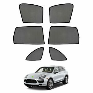 Car Window Sun Shades Side Sun Visors For Porsche Cayenne 2011 2018 2019 2020