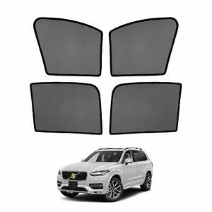 Car Window Sun Shades Side Sun Visors For Volvo Xc90 2016 2017 2018 2019 2020