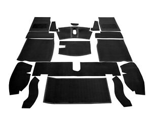 Austin Healey Sprite Mkiii Mkiv 1964 71 Complete Replacement Black Carpet Set