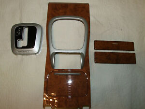Porsche Cayenne S Gt S Turbo S Real Wood Middle Console Upper Parts Set