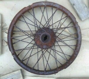 Vintage Model T Ford Wire Spoke Wheel For 21 Rim Original 48 Spokes