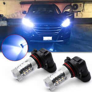16 smd For Hyundai Sonata 2015 2019 Blue Led High Beam Headlight Projector Bulb