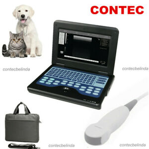 Dog Cat Veterinary Ultrasound Scanner Machine Small Animal Mini Convex Probe Usa