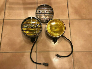 Piaa Fog Lights For Honda Ef Shuttle Beagle Wagon Jdm Not Rare