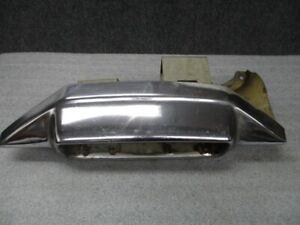1965 Cadillac Rear Bumper End Rh Passenger Side