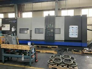 Hwacheon Hi tech 850bbl Ymc Cnc Lathe 2014 Y axis Live Tooling C axis Stea