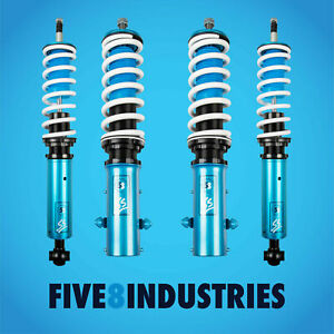 Five8 Industries For 85 98 Volkswagen Golf Full Coilovers Height Adjustable