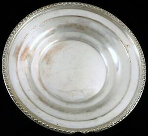 Antique Large Sterling Silver Plate Charger 12 Wide 386 Grams Towle Pattern