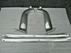 1959 Cadillac Windshield Trim Interior Aluminum Trim Set Of 4 Pieces