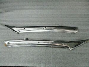 1959 Cadillac Rear Window Pillar Trim