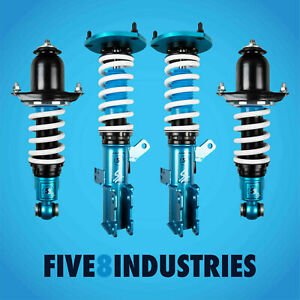 Five8 Industries For 00 06 Toyota Celica Full Coilovers Height Adjustable