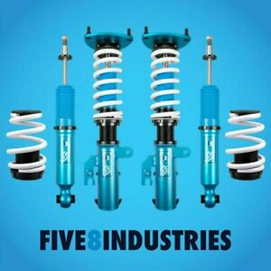 Five8 Industries For 18 Present Toyota Camry Full Coilovers Height Adjustable
