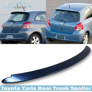 Painted For Toyota Yaris Hatchback Oe Style Rear Roof Spoiler Wing 8r3 Blue