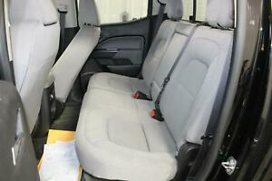 2016 Chevy Colorado Cloth Gray Rear Back Second 2nd Row seat Bench Oem