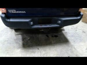 Rear Bumper Black With Tow Package Fits 05 15 Tacoma 701456