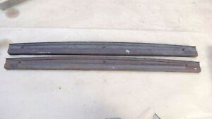 1928 1931 Model A Ford 2dr Sedan Door Tops Trim Original Pair 30 31 Pickup Truck