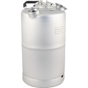 2 Head Stainless Steel Wash Out Beer Line Cleaning Keg 15l 3 9g With Handle