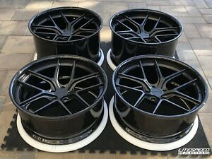 Forged Magnesium Wheels 21x10 And 21x12 Fits Nissan Gt r