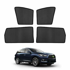 Car Window Sun Shades Side Sun Visors For Infiniti Qx60 2014 2017 2018 2019