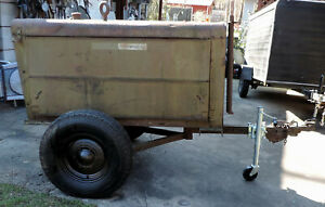 Hobart Welder 12kw Generator Gr 303 Trailer Mounted W Ford 6 Cyl W Xtra Parts