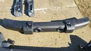 2007 2018 Jeep Wrangler Jk Front Bumper Oem Complete With Tow Hooks Support