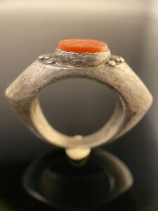 Ancient Roman Ring With Intaglio