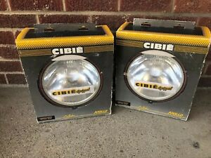 Cibie Apollo Driving Beam Lamps Large Round Nos Lot 2