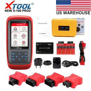 Xtool X100 Pro2 Obd2 Auto Ecu Reset Key Programmer Code Reader Scanner Tool Usa