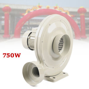 110v 750w Dust smoke Exhaust Blower Fan For Laser Engraving Machine Usa Stock