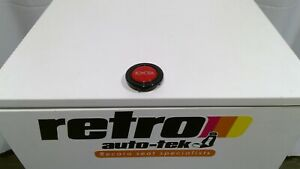 Toyota Horn Button For Suit Momo Steering Wheels Silver Over Red