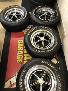 Set Of Shelby Mustang Gt500 Gt350 Wheels And Tires