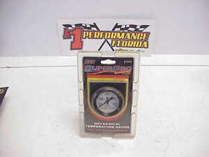 New Superpro Mechanical Water Temperature Gauge 3460 Installation Kit