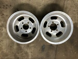 15x10 Slotted Mag Wheels Ansen Superior Appliance Us Indy Fenton 5x5 5 Ford