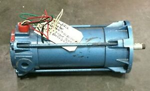 Pacific Scientific Electric Dc Motor 3 4 Hp 1800 Rpm 7 0a 90vdc