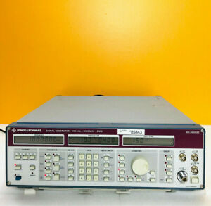 Rohde Schwarz Smg 100 Khz To 1000 Mhz Signal Generator for Parts Repair
