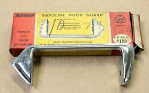 No Mar Chrome Gasoline Door Guard For 1951 Ford