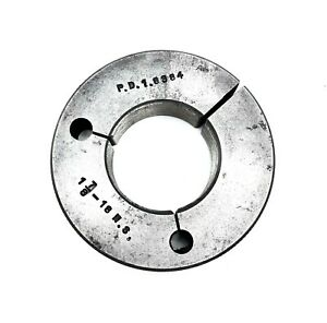 Thread Ring Gage 1 7 8 18 Ns Pd 1 8384 Inspection Tool Taft peirce Usa