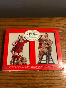 VINTAGE 1994 COCA COLA PLAYING CARDS LIMITED EDITION UNOPENED NEW
