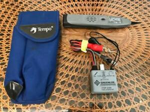 Ideal Amplifier Probe And Tempo Communications Greenlee 77hp g 6a Tone Generator