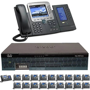 The 20 Office Ten Gigabit Color Pbx Telephone System Sip Analog Isdn Pri
