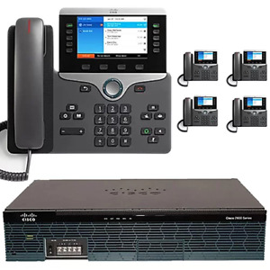 The 5 Executive Cisco Ip Pbx Phone System With New Cisco 8800 Color Phones