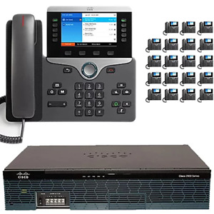 The 20 Executive Cisco Ip Pbx Phone System With New Cisco 8800 Color Phones
