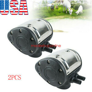 2pc L80 Pneumatic Pulsator For Cow Milker Milking Machine Dairy Farm Ship 2 5day