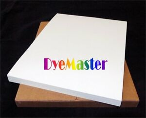 Dyemaster Sublimation Paper For Ricoh epson Printer 8 5 X 11 Sheets 10 Pack