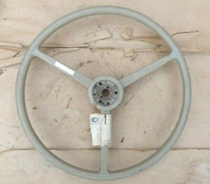 Nos 1940 S 1950 S Blue Bird Steering Wheel Original 20 3 Spoke