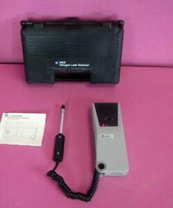 Tif 5500 Pump Style Automatic Halogen Leak Detector W Probe Case Tested