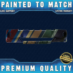 New Painted To Match Front Bumper Cover Fascia For 2005 2007 Jeep Grand Cherokee
