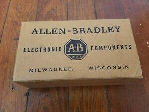 Nos Lot Of Allen Bradley 82000 Ohm 1 4w 10 Carbon Fixed Resistors Around 1000